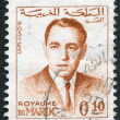 Description:MOROCCO - CIRCA 1962: A stamp printed in the Kingdom of Morocco, represented the King Hassan II, circa 1962 — Stock Photo #12465763