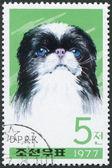 NORTH KOREA - CIRCA 1977: A stamp printed in North Korea — Stock Photo