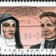 Постер, плакат: Beatification of Edith Stein and Rupert Mayer by Pope John Paul II in 1987