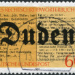 100th anniversary of the Duden Dictionary — Stock Photo #12757086