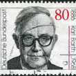 100th anniversary of the birth Karl Barth — Stock Photo