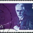 A stamp printed in the Germany, shows August Bebel — Stock Photo