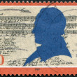 Stock Photo: Stamp printed in Germany, shows Friedrich Silcher