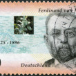 A stamp printed in the Germany, shows Baron Ferdinand von Mueller — Stock Photo