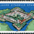 A stamp printed in Germany, is dedicated to the 400th anniversary of the citadel of Spandau — Stock Photo