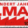 A stamp printed in Germany, is dedicated to the 100th anniversary of International Workers' Day, 1st May — Stock Photo