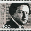 A stamp printed in Germany, is dedicated to the 100th anniversary of the birth Arthur Honegger — Stock Photo