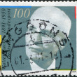 Stock Photo: Stamp printed in Germany, is dedicated to 100th anniversary of birth Walter Eucken