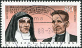 Beatification of Edith Stein and Rupert Mayer by Pope John Paul II in 1987 — Stock Photo