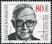 100th anniversary of the birth Karl Barth — Stock Photo