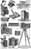 Photo Accessories. — Stock Vector