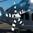 Stock Photo: Detail of experimental high-speed compound helicopter Eurocopter X3 (X-Cubed)
