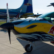Stock Photo: Sport plane ExtrEA-300 LP