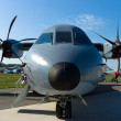 The EADS CASA C-295 is a twin-turboprop tactical military transport aircraft — Stock Photo