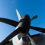 Постер, плакат: Engine a medium sized military transport aircraft Alenia C 27J Spartan