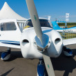 Stock Photo: Light civiliaircraft Piper PA-28-181 Archer III