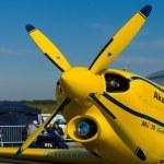 A light sport aircraft Akaflieg Munchen Mu30 Schlacro — Stock Photo #13491808