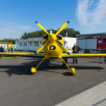 A light sport aircraft Akaflieg Munchen Mu30 Schlacro — Stock Photo #13491814