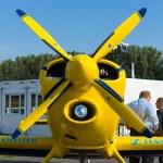 A light sport aircraft Akaflieg Munchen Mu30 Schlacro — Stock Photo #13491822