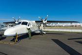 Turboprop aircraft Dornier 228 New Generation — Stock Photo