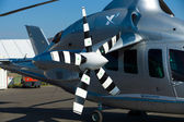 Detail of the experimental high-speed compound helicopter Eurocopter X3 (X-Cubed) — Stock Photo