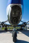 Detail of the Douglas DC-6B — Stock Photo
