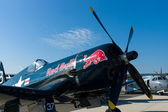 Carrier-based aircraft Chance Vought F4U Corsair, — Stock Photo