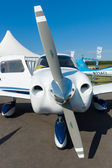 A light civilian aircraft Piper PA-28-181 Archer III — Stock Photo