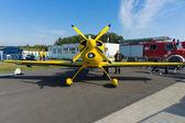 A light sport aircraft Akaflieg Munchen Mu30 Schlacro — Stock Photo