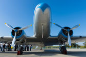 "Soviet aircraft Lisunov Li-2, the Hungarian airline ""Malev — Stock Photo"
