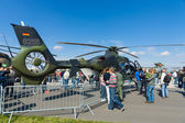 Twin-engine light helicopter Eurocopter EC135, — Stock Photo