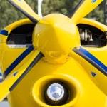 """BERLIN - SEPTEMBER 14: A light sport aircraft Akaflieg Munchen Mu30 Schlacro, International Aerospace Exhibition """"ILA Berlin Air Show"""", September 14, 2012 in Berlin — Stock Photo #13646469"""