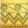 "Ornament from Mycenae. Ancient Greece. Publication of the book ""Meyers Konversations-Lexikon"", Volume 7, Berlin, Germany, 1910 — Stock Photo"