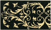 "Intarsia, (France, 16th century). Publication of the book ""Meyers Konversations-Lexikon"", Volume 7, Berlin, Germany, 1910 — Stock Photo"