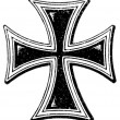"Cross of Teutonic Order. RomCatholic Church. Publication of book ""Meyers Konversations-Lexikon"", Volume 7, Leipzig, Germany, 1910 — Stock Vector #13703987"