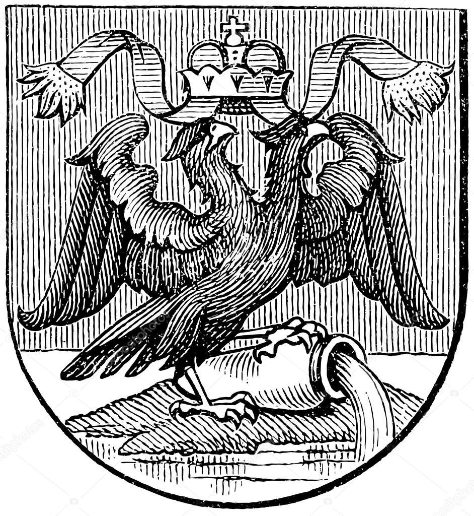 Art color rijeka - Coat Of Arms Of Rijeka Austro Hungarian Monarchy Publication Of The