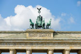 Quadriga Brandenburg Gate. — Stockfoto