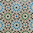Oriental ornament. Arab mosaic - Stock Photo