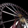 Ferris wheel. Christmas market at Alexanderplatz — Stock Photo
