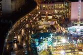 Christmas Market at Alexanderplatz, top view — Stock Photo