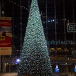 Christmas tree at the central railway station (Hauptbahnhof) — Stock Photo