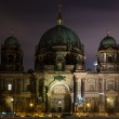 Berlin Cathedral (Berliner Dom) in the night illumination — Stock Photo #17661313