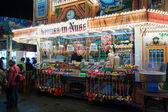 Sales of traditional Christmas sweets on the Christmas market at Alexanderplatz — Stock Photo