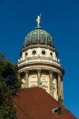 French Cathedral on Gendarmenmarkt. Berlin. Germany — Stock Photo