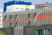 Associação social de hedquaters da alemanha em berlim — Foto Stock