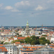 The roofs of Berlin, bird's-eye view — Stock Photo