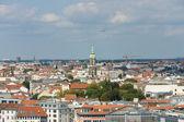 The roofs of Berlin, bird's-eye view — Foto de Stock
