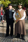 Men in vintage clothing. Imperial Holiday (Kaiserfest) to Zoologischer Garten — Stock Photo