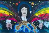 柏林墙。东边画廊. — 图库照片