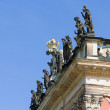 Stock Photo: Fragment of facade of New Palace. Park SSouci. Potsdam